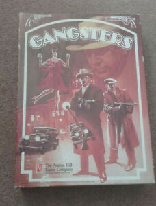 GANGSTERS Board Game from Avalon Hill - set in 1920s Prohibition Chicago USA