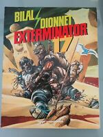 EXTERMINATOR 17 GRAPHIC NOVEL 1988 CATALAN COMMUNICATIONS BILAL! HEAVY METAL