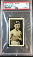1936 Mitchell & Son Gallery of 1935 #29 Benny Lynch PSA 7 NM  HOF Boxer  (A)