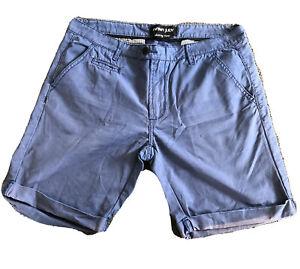 Nana Judy Mens Chino Shorts Blue Size 32
