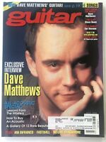 Guitar Magazine July 1998 Vintage Back-Issue Dave Matthews Ani DiFranco Fastball
