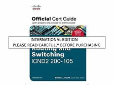 CCNA Routing and Switching ICND2 200-105 Official Cert Guide, 1/e  by Odom