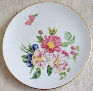 "Royal Worcester Fine Porcelain PERSHORE 9.25"" Plate"