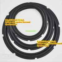 """2pcs 8/10/12""""inch Speaker rubber edge Speaker surround Home Audio repair parts"""