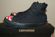 L@@K! MENS WOMENS CONVERSE CTAS HI SNEAKERS SHOES UK FLAG UNION JACK ENGLAND 6 8