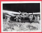 1944 British Soldiers Wrecked French Aircraft Diego Suarez Madagascar News Photo
