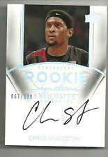 2011-12 Exquisite Basketball Chris Singleton Rookie Signature 67/199 FSU