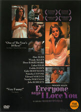 Everyone Says I Love You (1996) DVD, NEW!! Woody Allen, Drew Barrymore