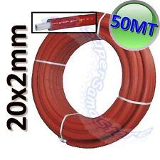 3S TUBO ROTOLO 50 MT RIVESTITO MULTISTRATO DIAMETRO 20 x 2 mm CON ISOLANTE ACQUA