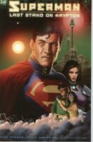 Superman Last Stand On Krypton Trade Paperback DC Comics 2003