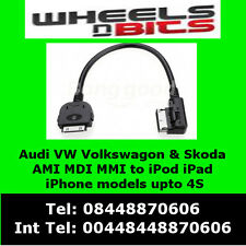 VW Volkswagon Golf MK5 / 6/7 Passat CC Polo Tuiguan Adaptateur iPod iPhone iPad