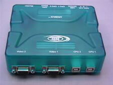 1 Network Technologies UNIMUX-USBV-2 2-Port USB KVM Switch