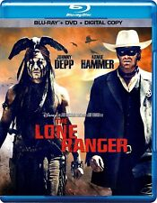 Disney's The Lone Ranger (Blu-ray Disc, 2013)
