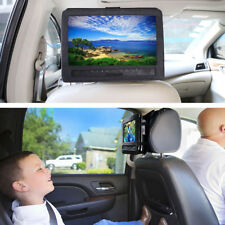 【10 Inch】 Portable DVD Player Headrest Car Case Holder Black Carrying Travel