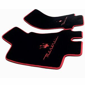 Floor Mats for 🇮🇹MASERATI 🔱GranTurismo🏅Exclusive Design 🔴FRONT ⚫️✅LHD ✅