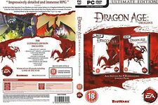 NEW Dragon Age: Origins - Ultimate Edition(PC DVD) For Windows 7, Vista & XP