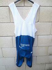 Combi Cuissard IBANESTO.COM NALINI cycling short bleu blanc 6 XXL
