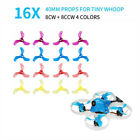 16pcs 40mm 3 Blade Props Tiny Whoop Propellers 1.5mm For Micro Drone FPV Racing