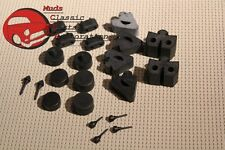 70-81 Camaro Firebird Body Alignment Rubber Stopper Bumper Set Kit 20 pieces