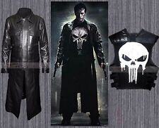 The Punisher Thomas Jane Frank Castle Costume Coat Vest