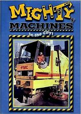 USED DVD // MIGHTY MACHINES - IN THE CITY -- CHILDREN EDUCATIONAL