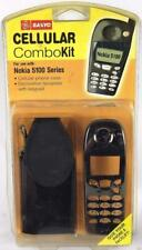 GE Sanyo Nokia 5100 Cellphone Faceplate w/ Buttons & Case GES-ELNO6K5 NOS