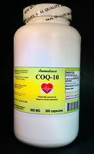 CoQ-10 q10 600mg - 300 capsules, co-enzyme, antiaging, High Quality. Made in USA