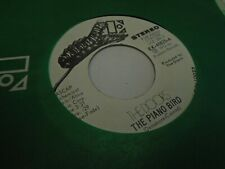 The Doors The Piano Bird [Jim Morrison] 45 rpm 1972 Elektra Records VG+ promo