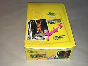 1990 WWF Classic Series 2 Trading Cards Unopened Box of 36 Packs