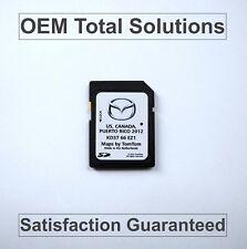 2013-15 Mazda Navigation SD Card Map KD37 66 EZ1 2014 U.S Canada Puerto Rico