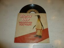 "STATUS QUO - Whatever You Want - French 1979 Juke box 7"" Vinyl Single"