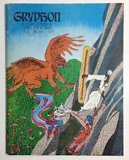 GRYPHON Magazine #2 FALL 1980 Vintage Fantasy RPG Rare
