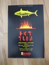 Hot Tuna Fillmore poster 1988