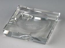 Passatore Zigarrenascher Kristallglas 4 Ablagen 15x15cm Zigarren Aschenbecher