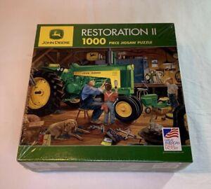 John Deere Restoration II 1,000 Piece Jigsaw Puzzle Great American Puzzle