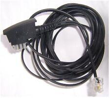 Anschlusskabel Telefon, Modem etc. (analog), 1x TAE-N-Stecker  -  1x RJ11-Stecke