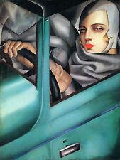 Art Deco Tamara De Lempicka Ceramic Mural Bath Tile #47