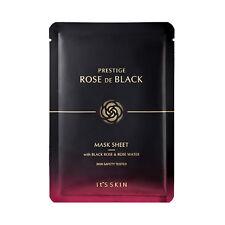[It'S SKIN] Prestige Rose De Black Mask Sheet - 2pcs