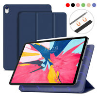For iPad Pro 11/12.9 inch 2018 Slim Folding Leather Smart Cover Stand Case Shell