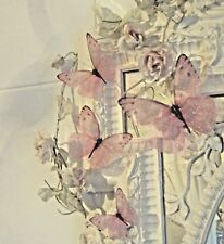 Butterfly Decorations 3D Nursery Girls Baby Sparkling Butterflies Removable