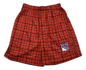 NHL Youth Boys New York Rangers Pajama Sleep Shorts