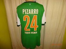 "Werder Bremen Nike Trikot 2009/10 ""SO GEHT BANK HEUTE"" + Nr.24 Pizarro Gr.XL"