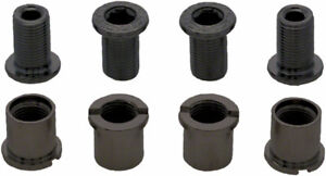 Chainring Bolts - RaceFace Chainring Bolt Pack Set of 4 12.5mm Bolt/Nut Black -