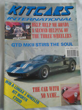 Kit Cars International Jan 1991 GTD MKII, Cobretti Cobra, Lomax 223