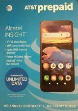 "AT&T Prepaid - Alcatel INSIGHT 5005r - Black - 5"" 5MP 16GB smartphone"