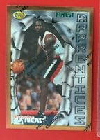 NBA JERMAINE O'NEAL Trail Blazers 1996 Topps Finest ROOKIE Trading CARD #31
