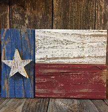 TEXAS FLAG Sign Americana Country Cabin Bar Pub Patriotic Rustic Wood Art Decor