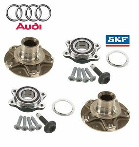For Audi A6 A8 Quattro R8 S6 S8 Front or Rear Wheel Hub & SKF Bearing Kit
