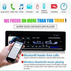 Digital Bluetooth Car Stereo Audio In-Dash FM Receiver SD USB MP3 Radio Player