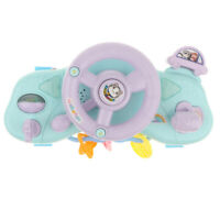 Children Electronic Driver Steering Wheel Sound Music Toy Developmental Game